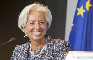 Christine Lagarde sobre los ancianos