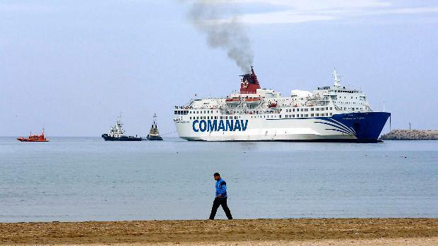 Frontera marítima entre España y marruecos