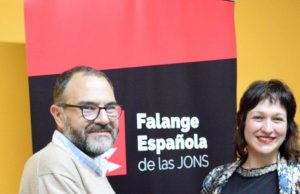 Luz Belinda Rodriguez Falange Española