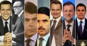 Presdientes de la democracia en España