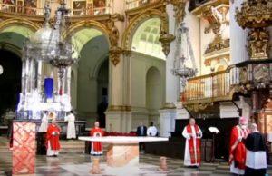 Desalojan la catedral de Granada