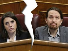 Pablo Iglesias e Irene Montero separados