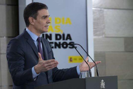 Pedro Sánchez Crisis Coronavirus