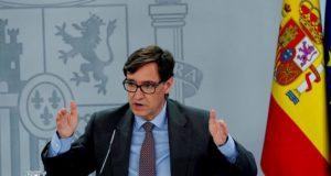 Ministro socialista de Sanidad Salvador Illa