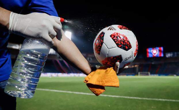 futbol y Coronavirus