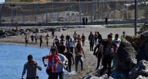 Invasion en Ceuta