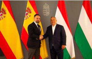 Santiago Abascal y Viktor Orban